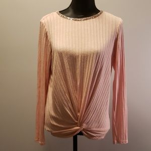 Juicy Couture knotted Front top size medium